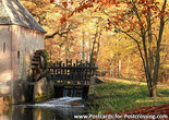 Postcard Water mill Hackfort in Vorden