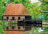 Postcard Watermill Ambt-Delden