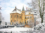 Postcard Castle Vorden in winter