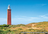 Postcard lighthouse Westhoofd in Ouddorp