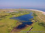 Postcard lighthouse Texel
