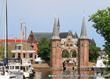 Postcard Waterpoort in Sneek