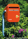 Postcard Post NL mailbox