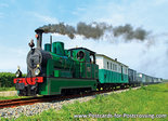 Postcard Steam Tram Locomotive RTM 50