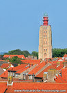 Postcard lighthouse 't Hoge Licht in Westkapelle