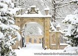 Postcard gate borg Nienoord