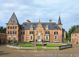 Postcard castle Twickel in Delden