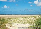 Postcard dune and sea