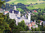 Postcard castle Neuschwanstein