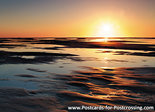 Postcard sunset on Texel