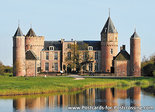 Postcard Castle Westhove in Oostkapelle