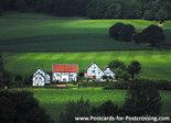 Postcard Limburgse Vakwerkhuizen
