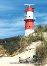 Postcard lighthouse Borkum