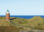 Postcard lighthouse Rotes Kliff