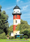 Postcard lighthouse Brinkamahof Bremerhaven