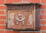 Postcard Postkasten