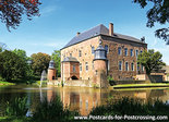 Postcard castle Erenstein in Kerkrade