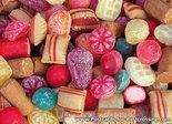 Postcard old Dutch candy