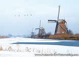 Unesco Postcard - Mills of Kinderdijk