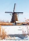 Unesco Postcard - Mill at Kinderdijk