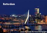 PostcardRotterdam - Erasmus bridge