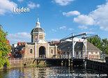 PostcardLeiden -Morspoortbridge