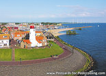 Postcard lighthouse Urk