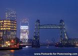 Postcard Koningshaven bridge de Hef