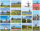 Mill postcard set