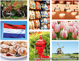 Postcard set Dutch