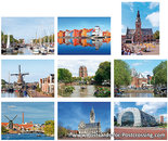 City postcard set