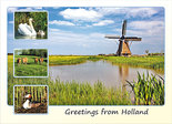 Postcard Greetings from Holland 002