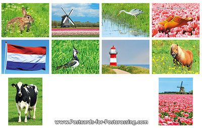 Postcard set 39