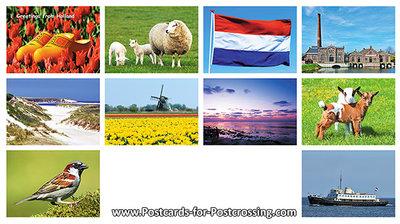 Postcard set 38