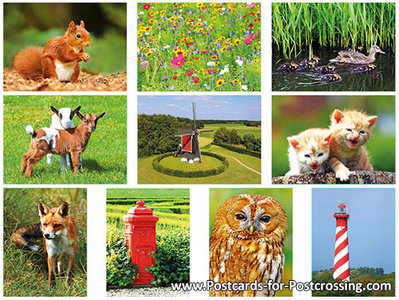 Postcard set33