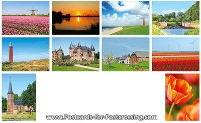 Postcard set28