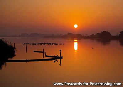 Postcard Sunrise at Leekstermeer
