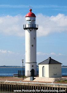Lighthouse Hellevoetsluis postcard
