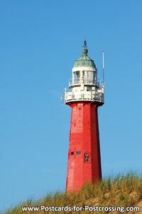 Lighthouse Scheveningen postcard