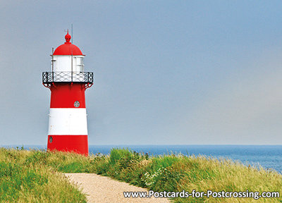 Postcard lighthouse Westkapelle