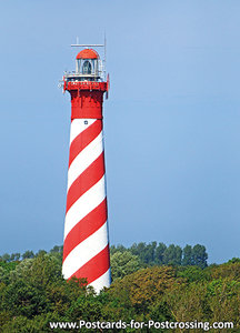 Lighthouse Westerlicht postcard