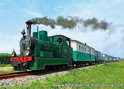 Postcard Steam Tram Locomotive RTM 50