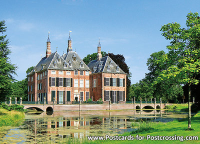 Castle Duivenvoorde postcard