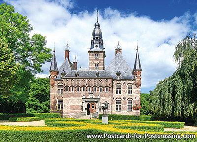 Castle Wijchen postcard