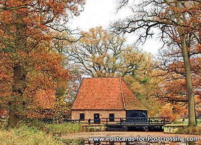 Postcard Watermill Ambt Delden