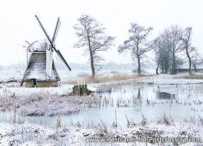 Mill postcard Westendorp in Sebaldeburen