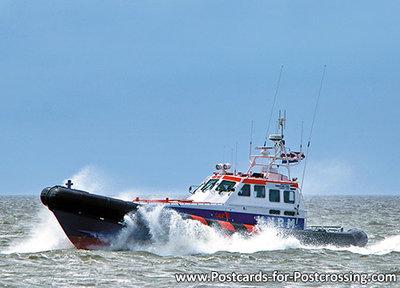 Lifeboat Terschelling postcard