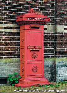 Postcard mailbox of Medemblik