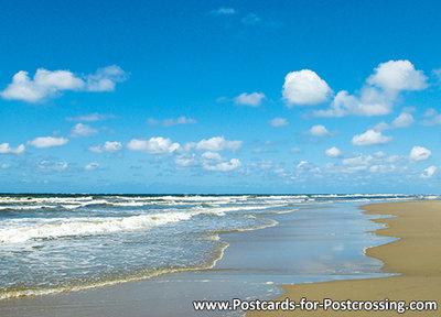 Postcard North sea