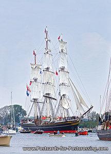 Postcard Sail Amsterdam